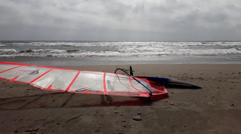 Windsurfing La Boca, Concon. Slalom session (VIDEO)