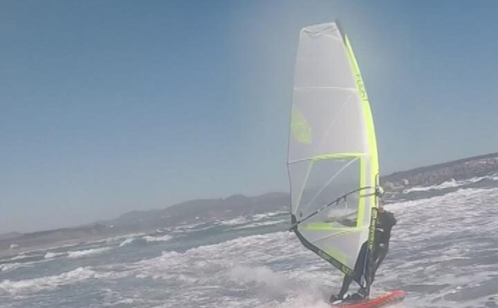 Windsurfing ritoque 3 de Octubre 2018 (VIDEO)
