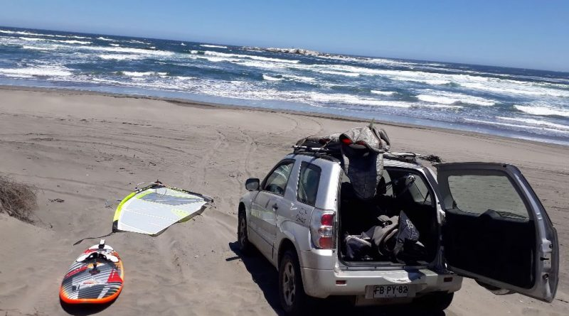 Windsurfing ritoque domingo 9/12/18